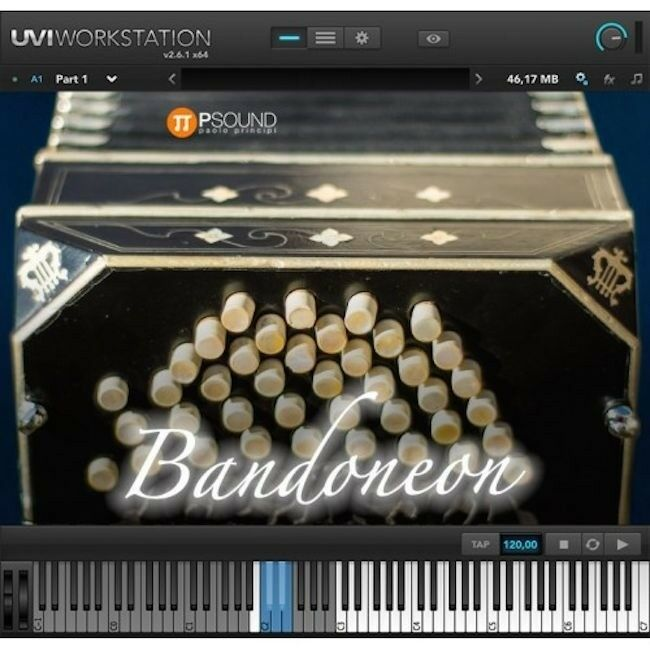 New PSound Bandoneon Instrument Samples Software Plugin Mac PC