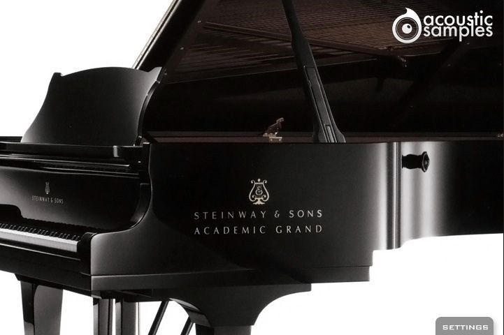New AcousticSamples Academic Grand Piano 1963 Steinway UVI Mac PC VST / AU / AAX