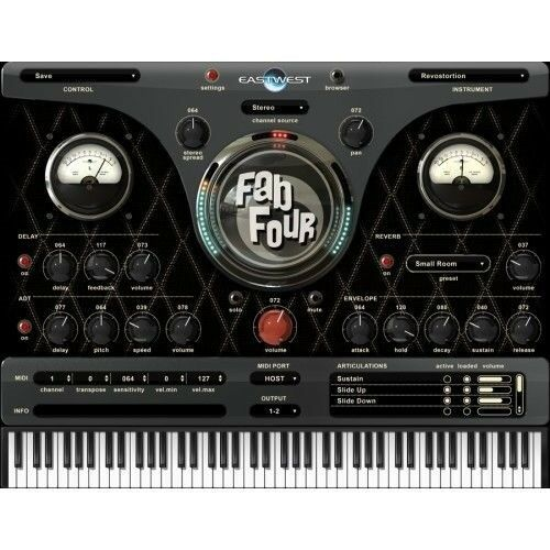 EastWest East West Fab Four Sample Library VST Software Mac/PC eDelivery