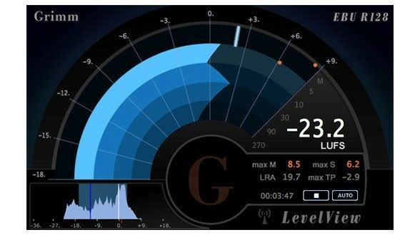 Beatrig LevelView Loudness Meter View Mac/PC AAX RTAS Plug-in