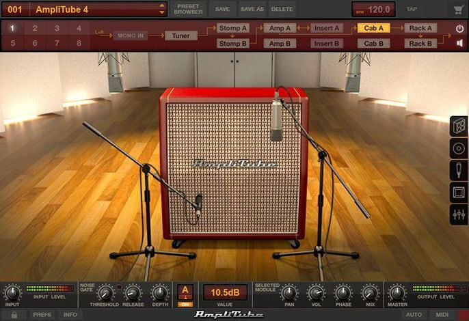 IK Multimedia AmpliTube 4 - Guitar/Bass Amp & FX Modeling Mac/PC AAX VST