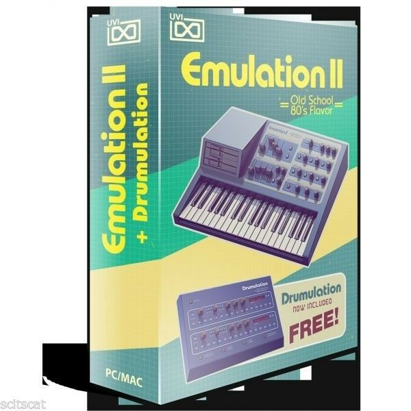 UVI Emulation II Virtual Instrument PC Mac Plug-In Software AAX AU VST MAS