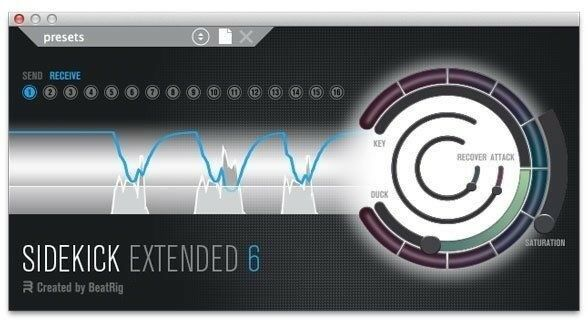 Beatrig Sidekick Extended 6 Easiest most comprehensive side-chain compressor