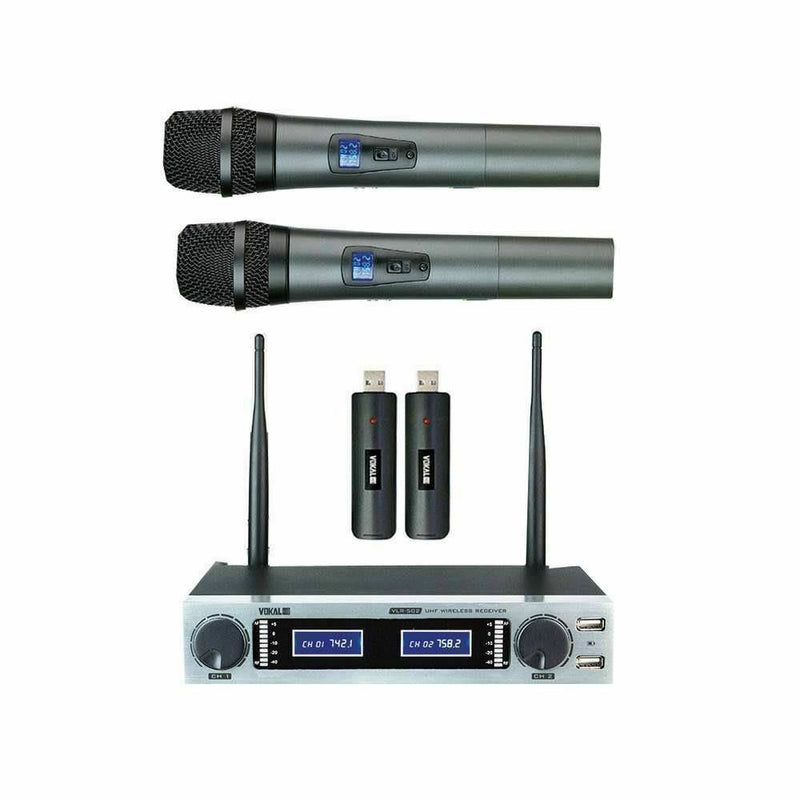 Vokal Professional VLR-502 Wireless Professional Microphone System