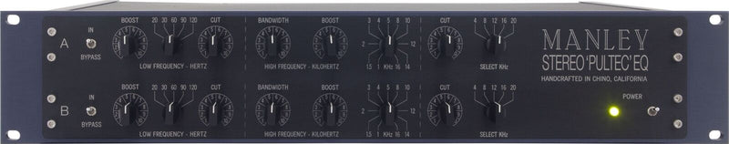 New Manley Labs Stereo Pultec Equalizer