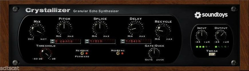 New SoundToys Crystallizer V. 5 Reverse Echo Effects Plugin Mac PC AAX VST AU eDelivery