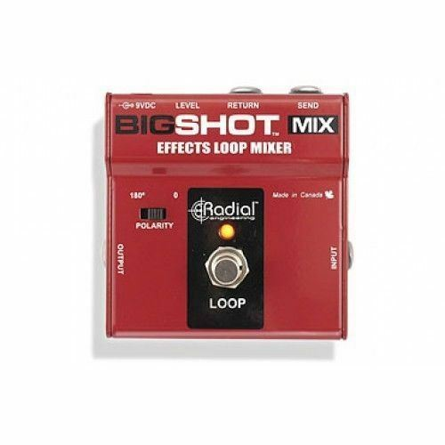 Radial Engineering BigShot MIX Effects Loop Mixer Controller