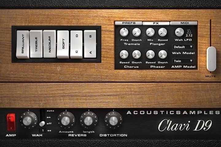 New AcousticSamples Clavi D9 Clavinet UVI VST AU RTAS Mac PC Software