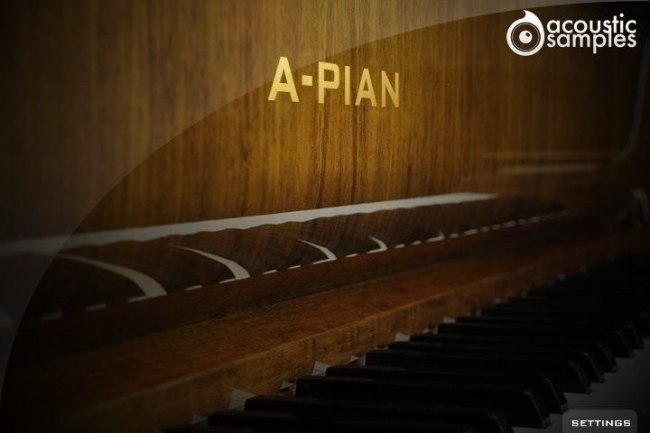 New AcousticSamples A-Pian Grand Piano French UVI VST AU RTAS Mac PC Software
