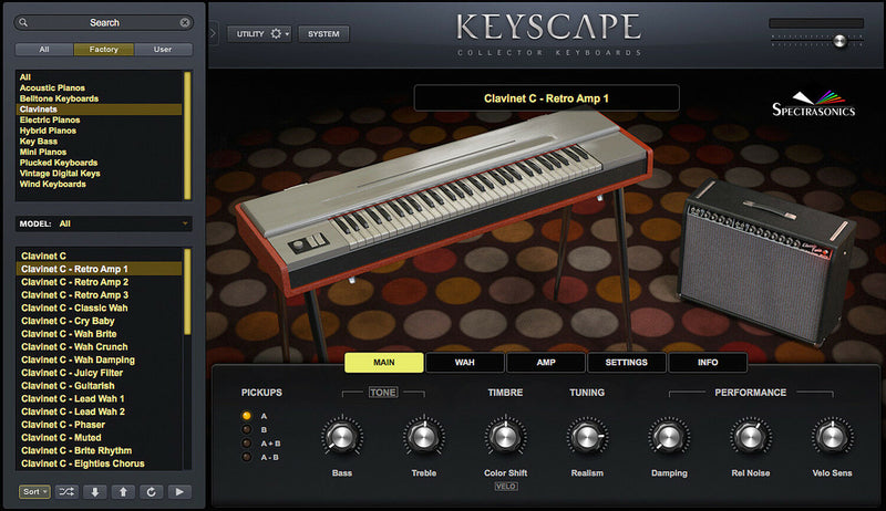 Spectrasonics Keyscape Virtual Keyboard Collection Software (Boxed)