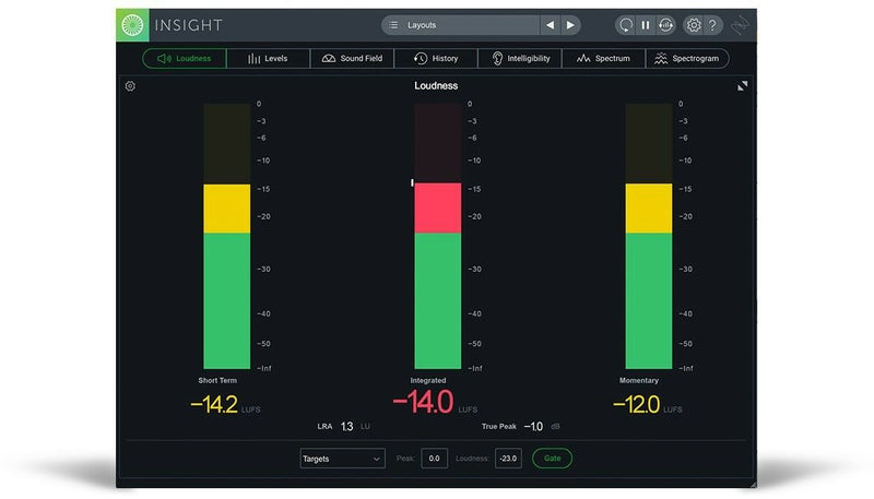 iZotope Insight 2 Essential Metering Suite Plugin Software - eDelivery