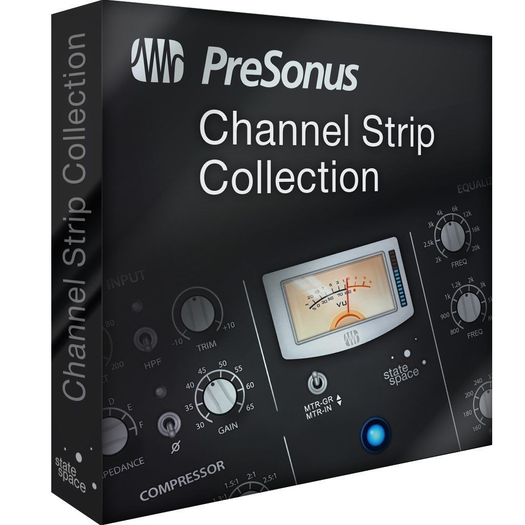 New PreSonus Channel Strip Collection Mac/PC for Studio One Artist & Professional