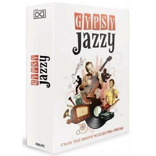 UVI Gypsy Jazzy Virtual Instrument Loops Sounds Kits Software Mac & windows