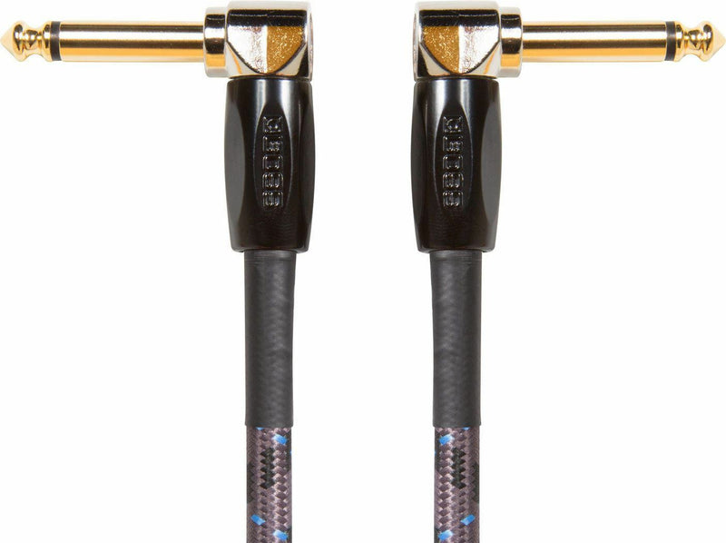 "Boss BIC-PC-3 (3 pack) 6"" Angled to Angled - Instrument Cable"