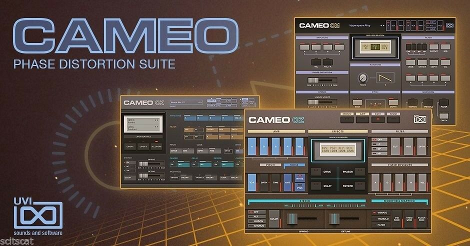 UVI Cameo Phase Distortion Suite Synth Software Mac PC AAX AU VST MAS eDelivery