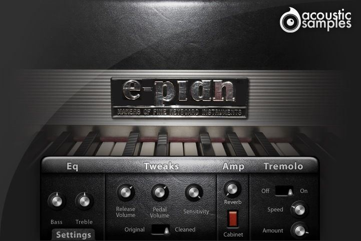 AcousticSamples E Pian  Electric Piano 73 Key UVI  VST AU Mac PC Software