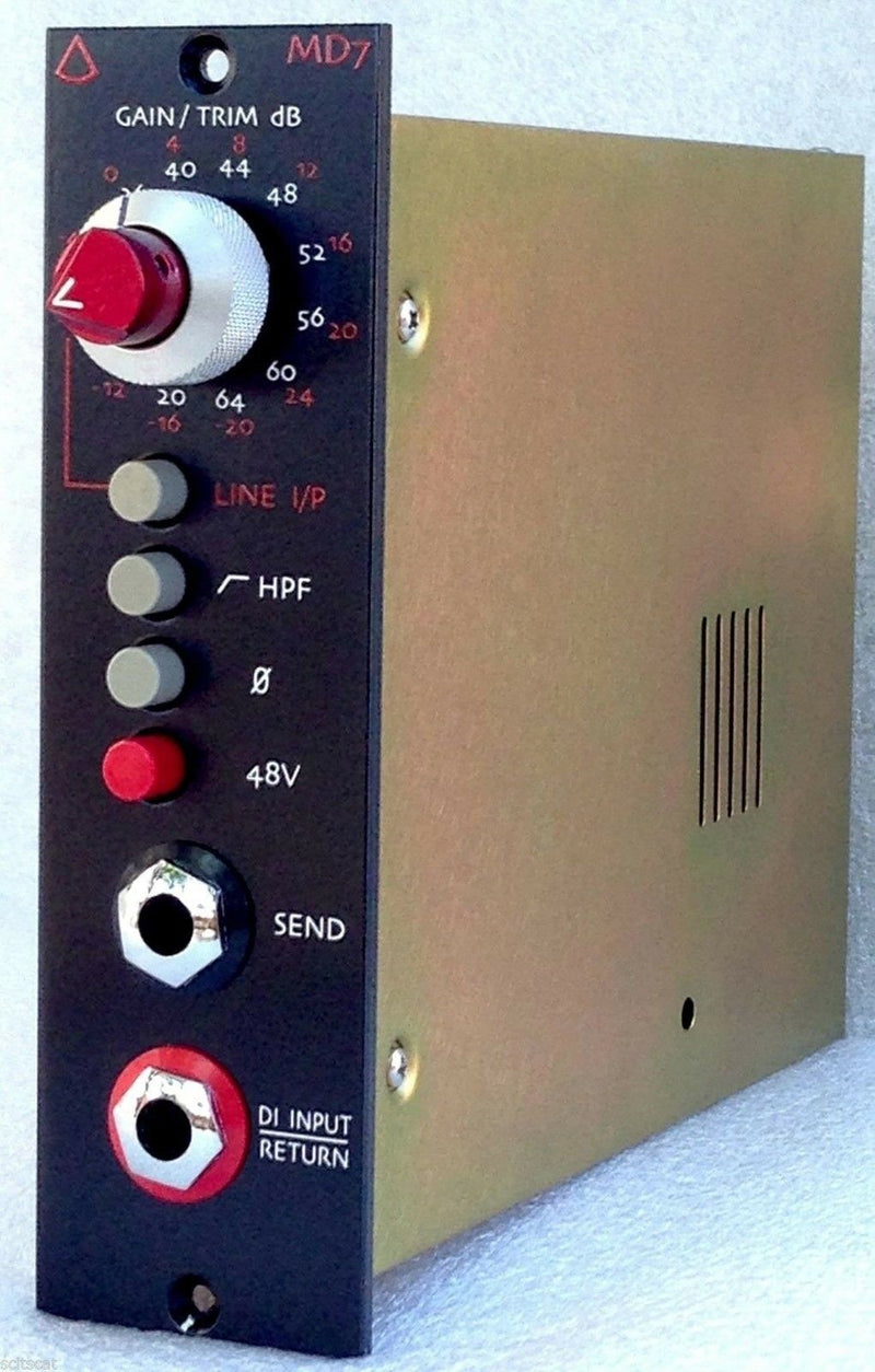 Avedis Audio MD-7 500-Series Mic/Line Preamp Module - MD7 Microphone Preamplifier