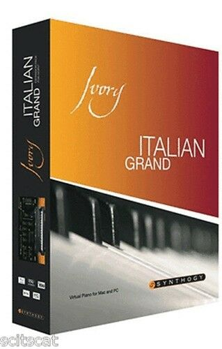 Synthogy Ivory II Italian Grand Piano Virtual Piano Mac/PC AU VST RTAS BOX