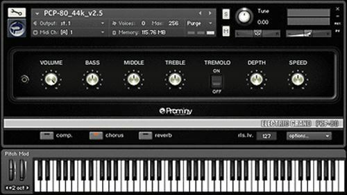 New Prominy ELECTRIC GRAND PCP-80 Requires Kontakt 5 Piano Mac PC