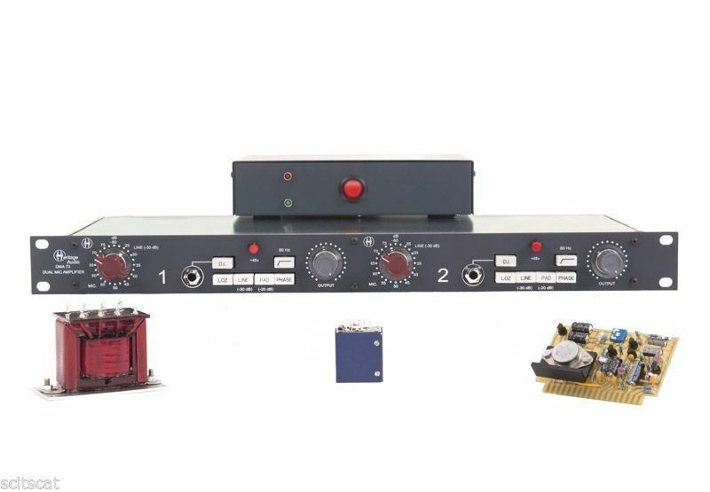 Heritage Audio DMA73 2-Channel Microphone Preamp