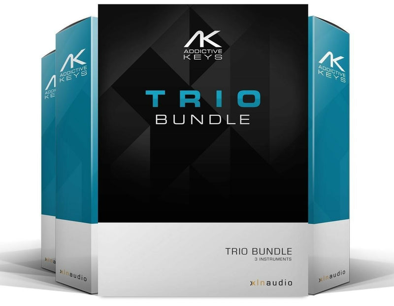 XLN Audio Addictive Keys: Trio Bundle 3 Mac/PC Virtual Instrument VST AU AAX