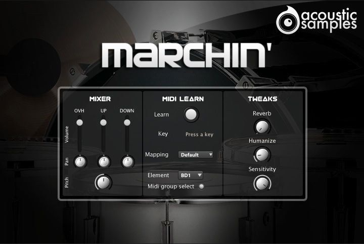 AcousticSamples Marchin Band Orchestra UVI VST Mac PC Software