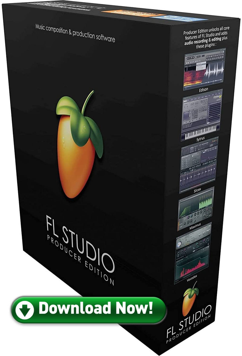 Image Line FL Studio 20 Producer Edition Music Production DAW Software - eDelivery