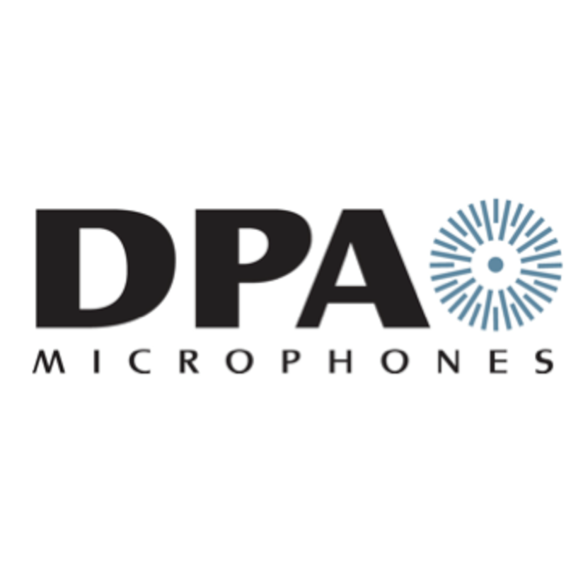 DPA Microphones d:screet SC4098 Supercardioid Podium Microphone, 30cm, Top Gooseneck with XLR Hardwire Connector (Black)