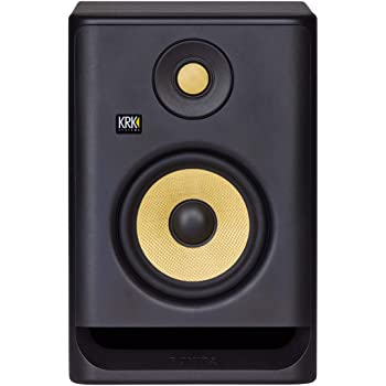 KRK RP5G4 Rokit 5 Generation 4 Powered Studio Monitor Speaker RP5 G4 Black