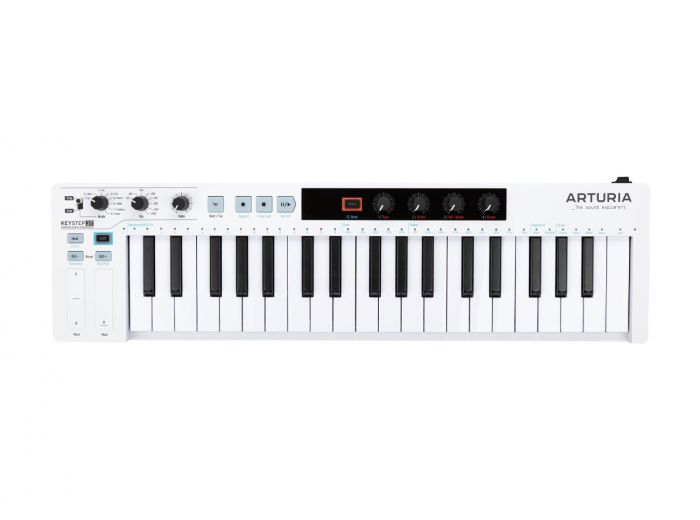 Arturia KeyStep 37 Portable 37-Key Midi Controller & Sequencer