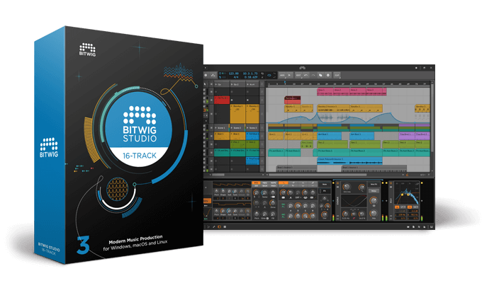 Bitwig Studio 16-Track Music Production and Performance Software - eDelivery