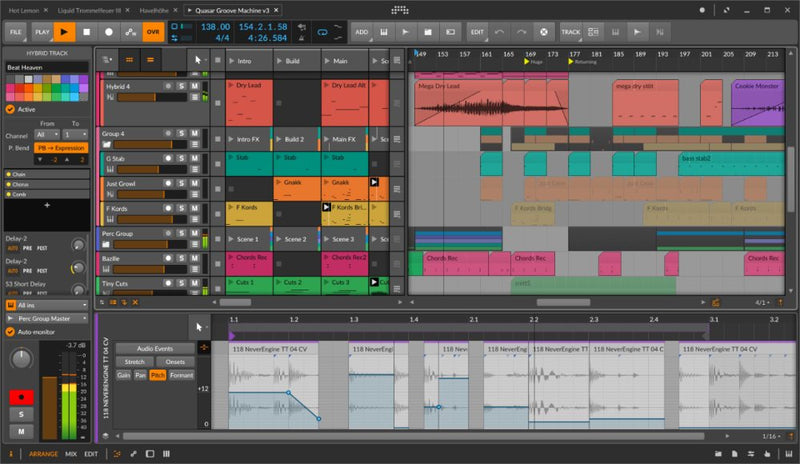 Bitwig Studio 3 Music Production and Performance DAW Software - eDelivery