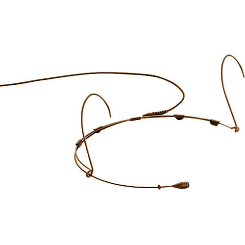 DPA Microphones d:fine 4066 Omnidirectional Headset Microphone with a Microdot Termination (Brown)