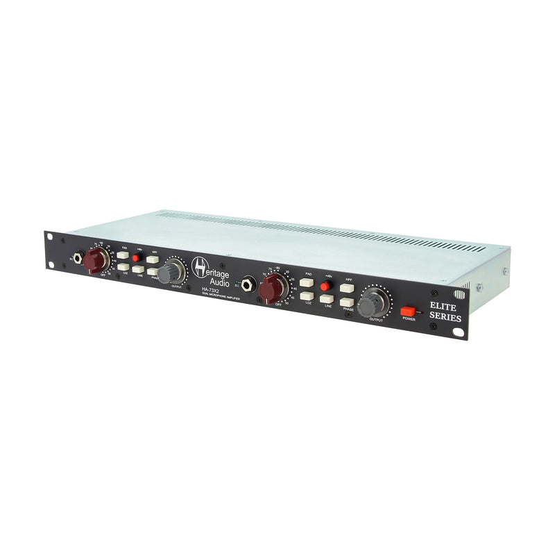 Heritage Audio HA73X2 Elite 2-Channel Microphone Preamp‎