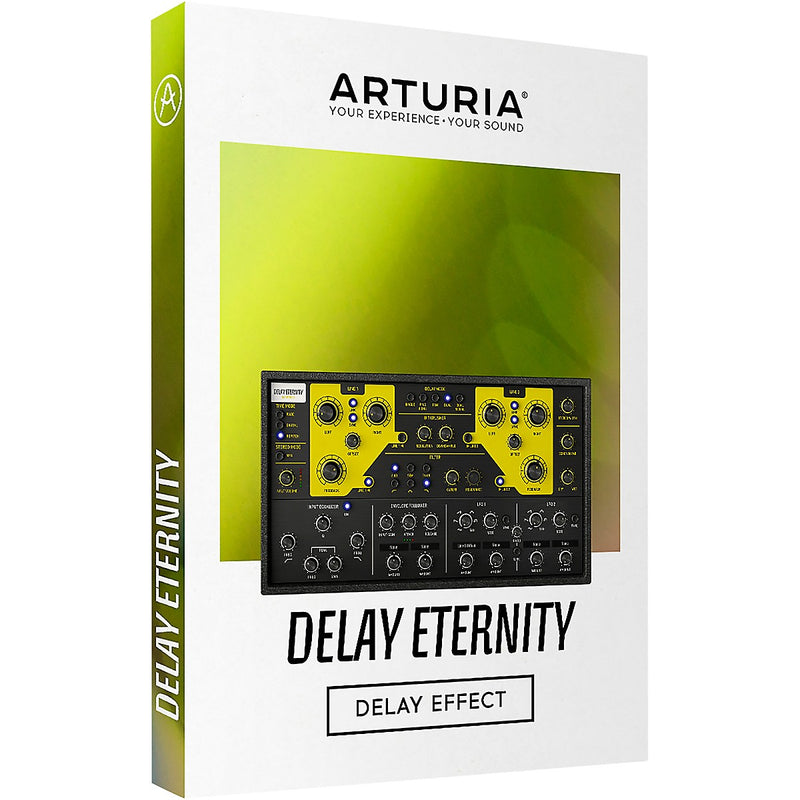 Arturia Delay Eternity Endlessly Creative Echo Plugin Software - eDelivery