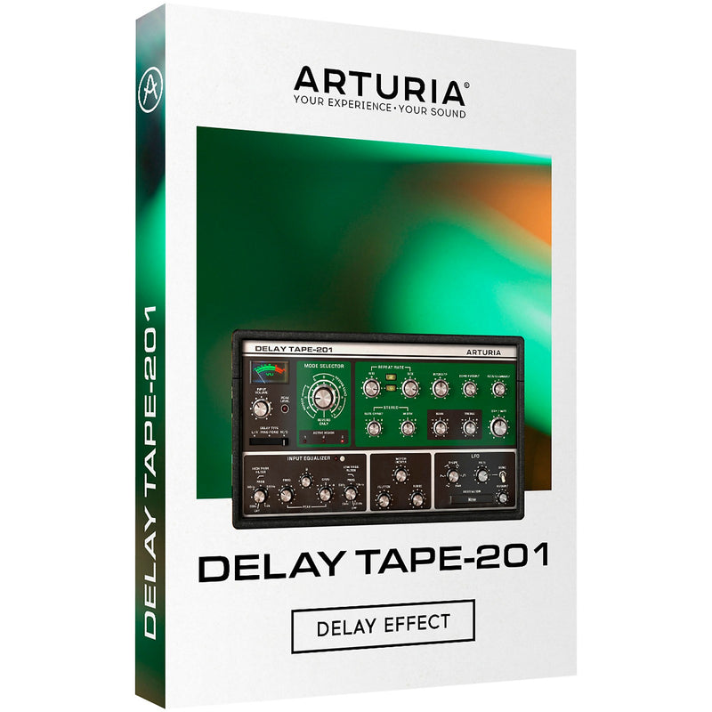 Arturia Delay Tape-201 Saturated Analog Echo Plugin Software - eDelivery