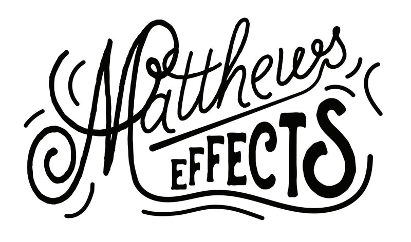 Matthews Effects Chemist v2 All-in-One Octave, Chorus or Phaser Pedal with Expression Jack
