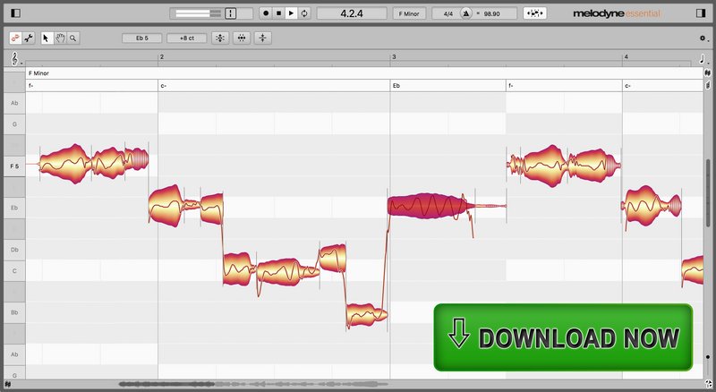 Celemony Melodyne 5 Essential Retail Software - eDelivery