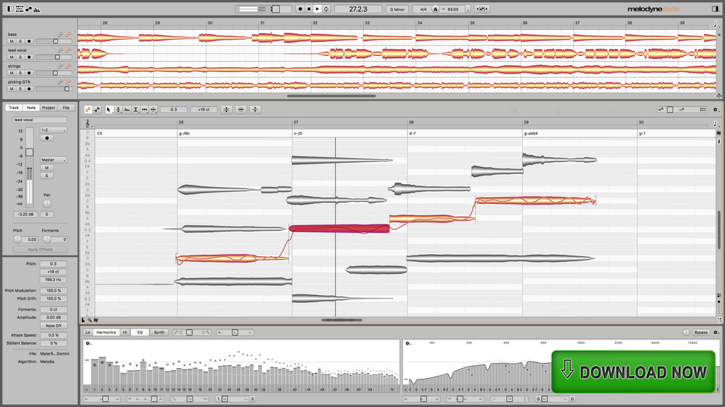 Celemony Melodyne 5 Studio Upgrade Software - eDelivery