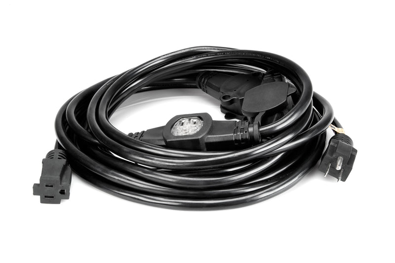 Hosa Technology PDX-225 NEMA 5-15R to 5-15P Power Distribution Cord (25')