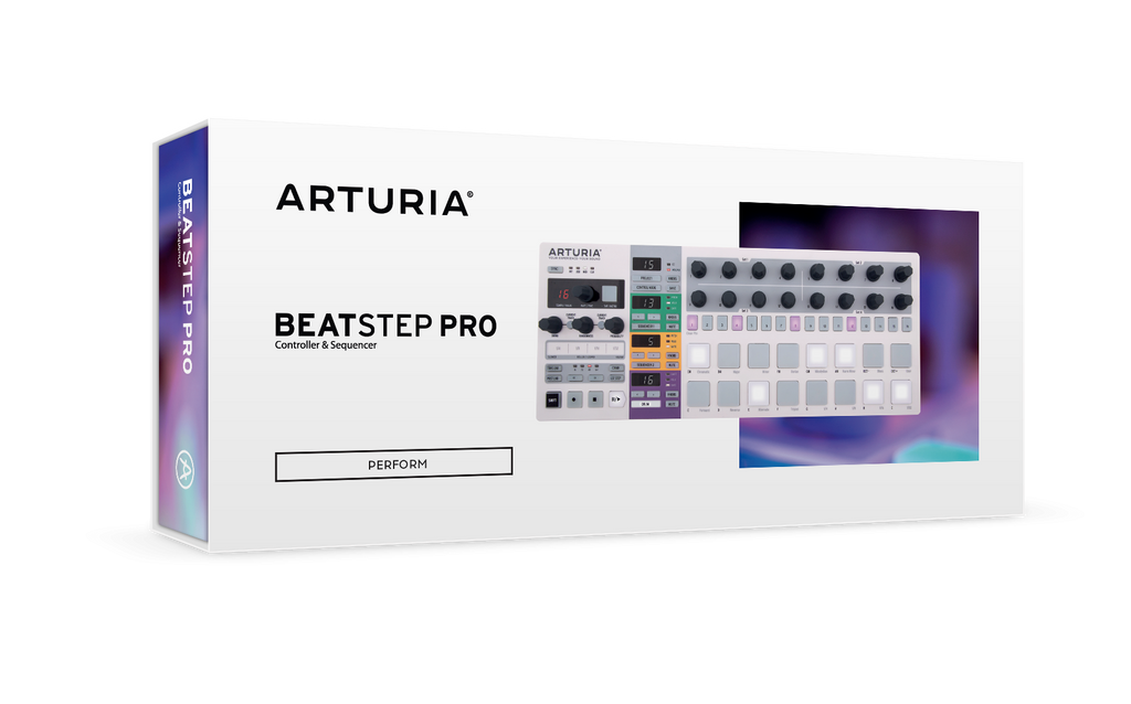 Arturia BeatStep Pro - MIDI/Analog Controller and Sequencer