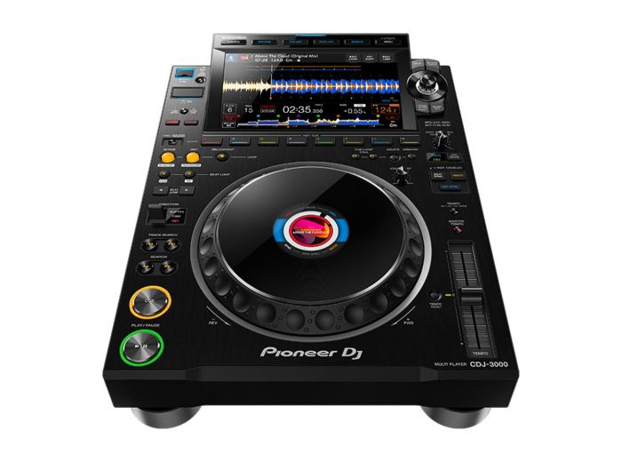 Pioneer DJ CDJ-3000 Professional DJ Media Player w/ 9-Inch, Full-Color HD LCD Touch Screen (Black)