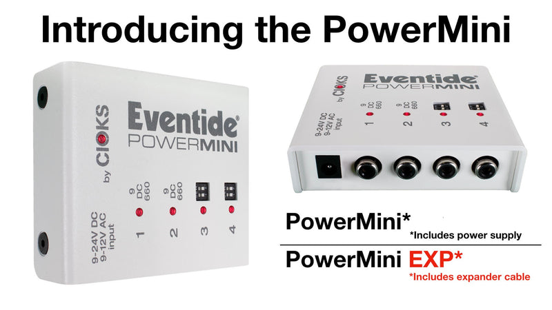 Eventide PowerMini EXP Universal Isolated and Super Compact Power Supply for Pedals and Stompboxes