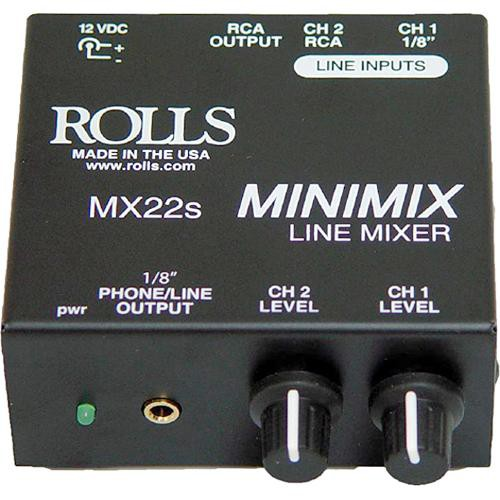 Rolls MX22s Mini Mix - Line Mixer