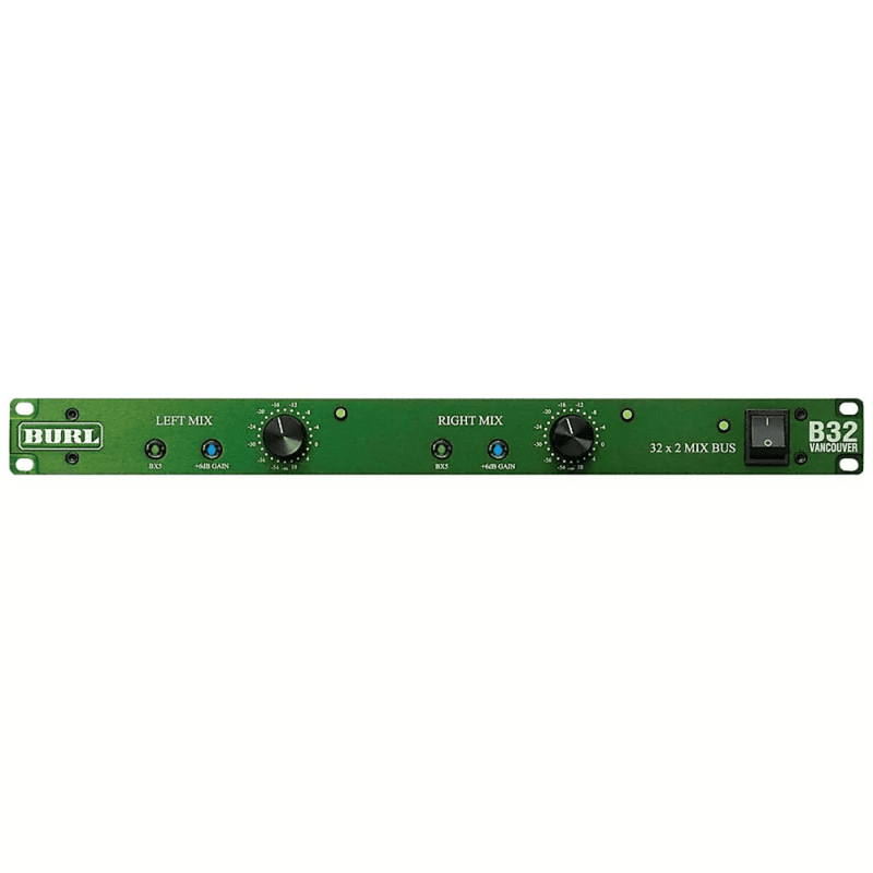 Burl Audio B32 Vancouver Stereo Mix Bus | B32-VAN