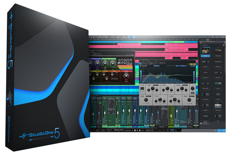 PreSonus Studio One 5 Artist UPGRADE from Previous Artist DAW Software - eDelivery