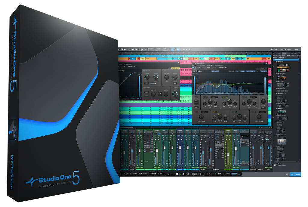PreSonus Studio One 5 Professional DAW Recording Software - eDelivery
