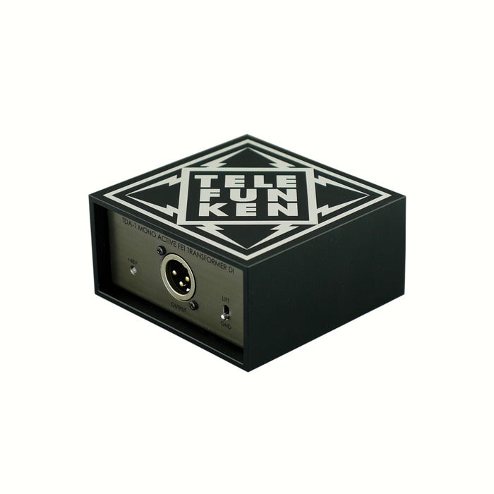 Telefunken Elektroakustik TDA-1 Active Mono DI Direct Box