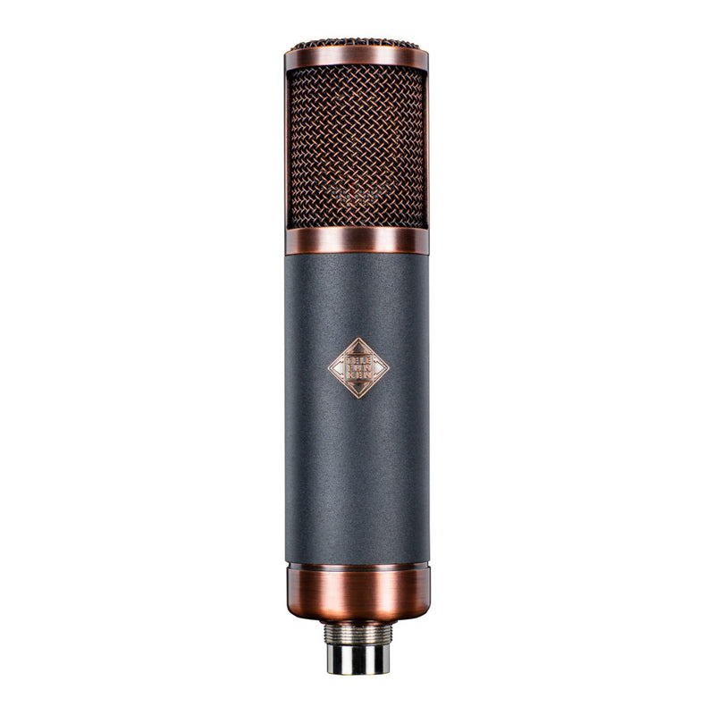 Telefunken TF-39 Copperhead Deluxe Large Diaphragm Multipattern Tube Condenser Microphone