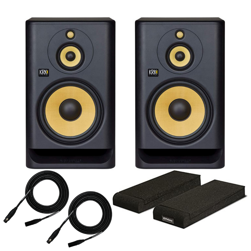 "KRK ROKIT RP103G4 10-3 G4 10"" Class D Powered Studio Monitors Speakers RP10-3-G4 (PAIR)"